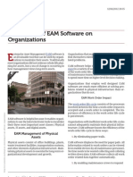 Www.mintek.com the Impact of Eam Software on Organizations