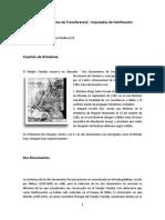 Dos Documentos de Transferencia