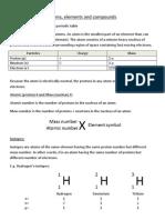 Atoms%2C Elements and Compounds