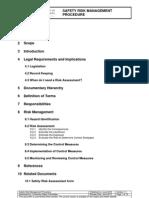 Safety Risk Management Procedure