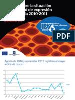 presentación Reporte Anual 2010-2011 IPYS