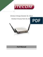 WL 330 331 Full Manual English