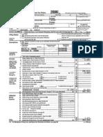 President Obama's 2006 Tax Return