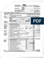 President Obama's 2009 Tax Return