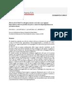 Efectos de la Poli-N-acetil-glucosamina asociada a un régimen