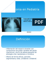 Neumonia en Pediatría
