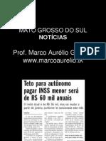 Notícias Mato Grosso do Sul - nov2011