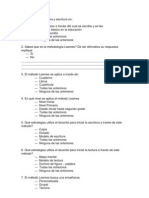 Pregusntas Cuestionario Metodo Lesme