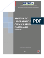 Apostila_Lab. Quimica Aplicada versão 2012