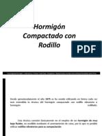Hormigon Compactado Con Rodillo