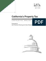 California Legislative Analyst's Office (LAO)