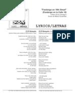 Fandango Lyrics