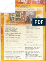 Culture Corner 1 the History of English