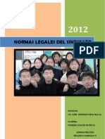 Normas Legales de Sindicatos en Japon China