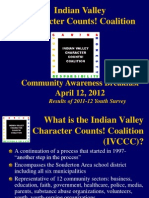 Indian Valley Character Counts! Coalition community leaders breakfast 2012