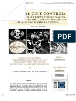 MUSICAL CULT CONTROL_ THE ROCKEFELLER FOUNDATION'S WAR ON CONSCIOUSNESS THROUGH THE IMPOSITION OF A=44OHZ STANDARD TUNING