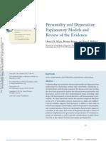 Personalidad y Depresion