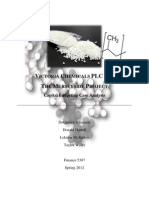 Victoria Chemicals PLC Case Analysis