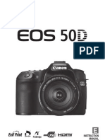 Manual de Utilizare Canon 50D
