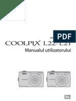 Manual de Utilizare Nikon L21-L22