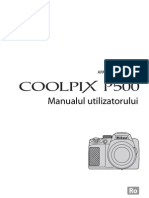 Manual de Utilizare Nikon P500