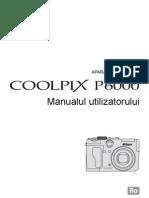 Manual de Utilizare Nikon P6000