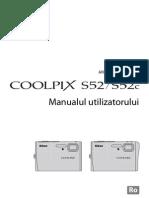 Manual de Utilizare Nikon S52-S52c