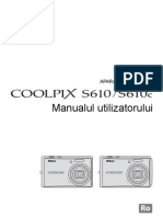 Manual de Utilizare Nikon S610-S610c