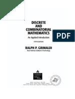 Discrete and Combinatorial Mathematics 5E (Textbook)