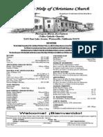 Parish Bulletin 04-15-12