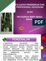 Ldp Profesionalisme Keguruan (Fazirah)