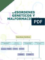 Desordenes Geneticos y Malformaciones