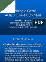 A Sociologia de Durkheim 52