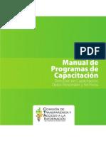Manual Programas Capcitacion APROBADO