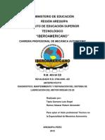 Anteproyecto Sistema de Lubricacion-modificado Iberoamericano