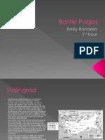 Battle Pages