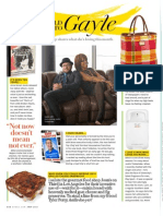 The World According to Gayle -  O Magazine May 2012