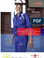 My Best Life Maya Moore - O Magazine August 2011