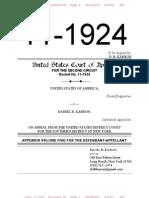 11-1924 Appendix Volume 05 for the Defendant-Appellant Karron