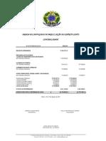 Prestação de Contas Agosto 2011