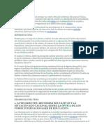 Avances y Retrocesos de La Educacion Chilena