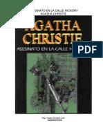 Asesinato en La Calle Hickory. Agatha Christe