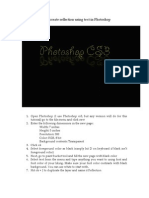 Photoshop Tutorial-how to Create Text Reflection