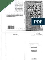 Couche Danis. Genealogia de La Nocion de Cultura en Las Ciencias Sociales