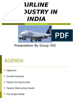 Airlines Industry in India-GROUP 8