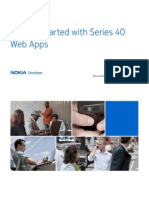 Nokia Web Tools Getting Started Guide