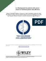Cochrane EPO vs DARB in Cancer