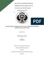 Analisis Rasio Keuangan ( i Made Dharma Wibawa)
