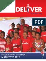 FNM Manifesto 2012