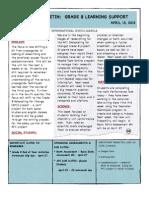 Weekly Bulletin 4.13.12